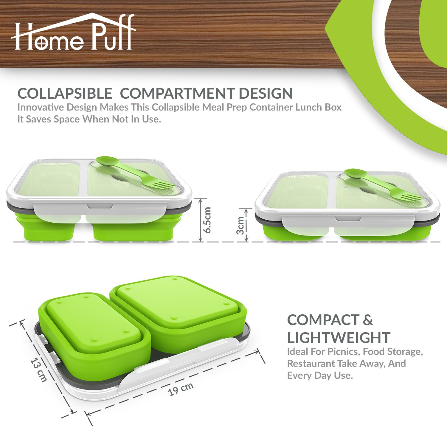 home puff lunch box ml