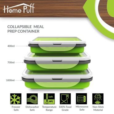HomePuff Collapsible PrepLunch Box