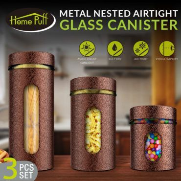 HomePuff Glass Canister